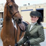 "Katie & ""Spot""  Ladies Sidesaddle"