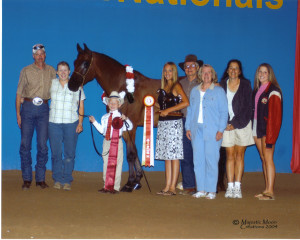 Youth National Reserve Champion Showmanship